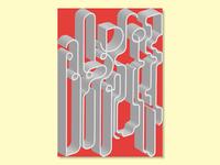 Berlin Type Poster