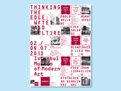 Thinking the Edge: Water and Culture festival artists artist exhibition arts art events event typography graphic design design poster