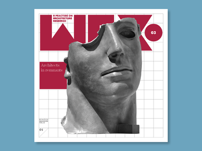 WEX Magazine typography editorial editorial design magazine design cover design design magazine cover