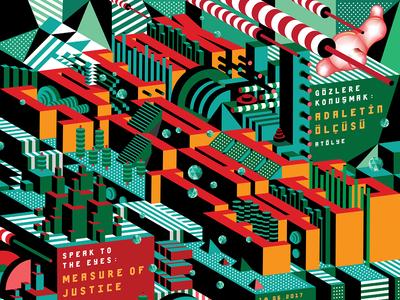 Speak to the Eyes — Poster Detail graphic design typography design poster design posters poster