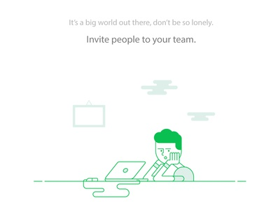 Invite people to your team!