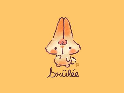 Brûlée characterdesign character doodle kawaii cute illustration