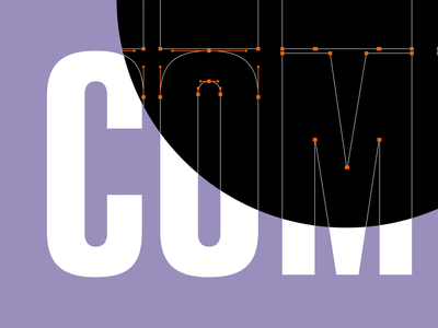 Compression - Animated Typeface motion loop font type kinetic animated animography after effects typeface typography