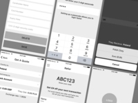 UX for a currency exchange app