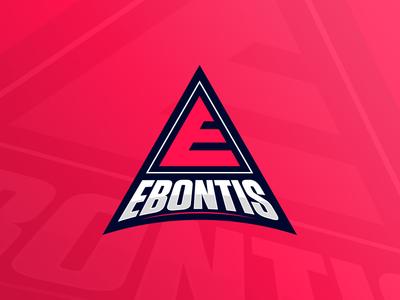 Ebontis Gaming Logo illustration icon e gamer gaming branding logo