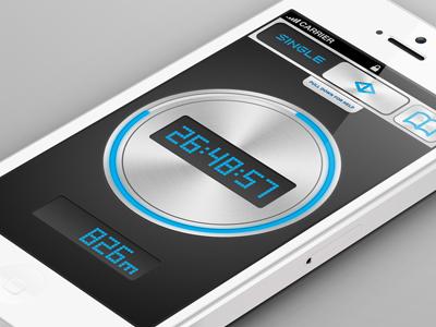 Sprinter App iphone sprinter timer run