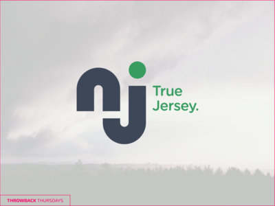 Throwback Thurdays Nj Logo Reimagined throwback logo new jersey