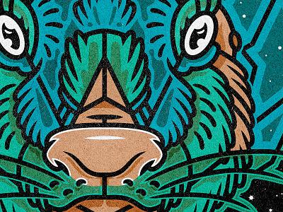 Jackalope rabbit jackalope adobe vector illustration astropad