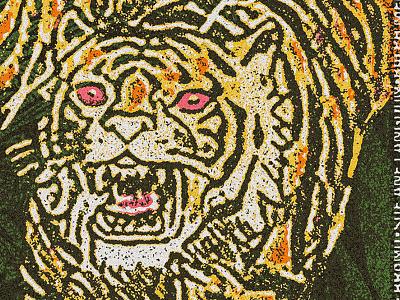 Terror kitty rawr tiger vintage