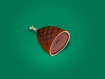 Food or Weapon? low poly food weapon design game texturing 3d video game unity