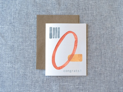 Abstract Notecard Series