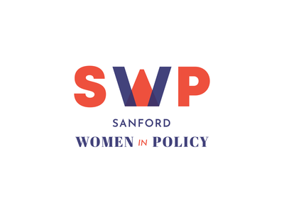 Sanford Women in Policy femme political policy women politics digital typography logo design illustration