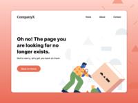 Error Page Design Challenge