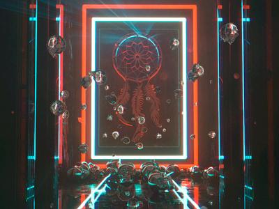 dreamcatchers illustration 3d poster visual c4dfordesigners surreal octanerender c4d octane