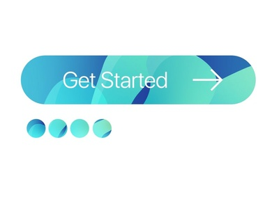 Get Started CTA button design.
