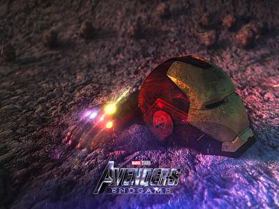 Avengers : Endgame fan made poster octane render cinema4d photoshop poster dontspoiltheendgame spoiler infinity gauntlet infinity gauntlet thanos rdj iron man endgame avengersendgame avengers