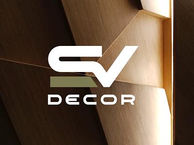 SV Decor Identity Design logo design identity branding laminates plywood decor identity logodesign logo