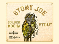 Stony Joe Golden Mocha Stout Label