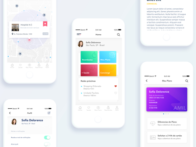 Card Control - App Interface prototype usability experience user navigation smart iphone material design ui ux app interaction