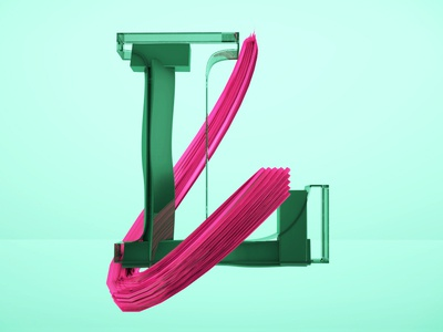 Letra L design motion animation after effects c4d 36daysoftype motion graphics 3d animation cinema 4d