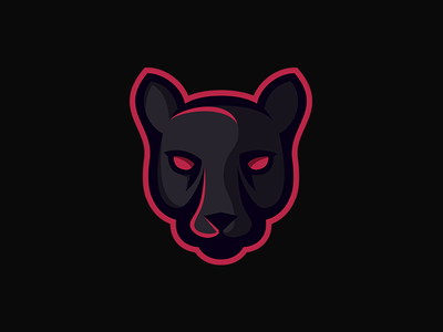 Panther panther logo mascot