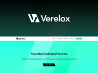 Verelox Logo and Website Design