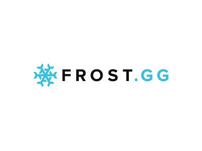 FrostGG logo snowflake snow
