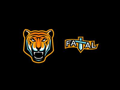 Fatal Network Elements illustration vector branding logo design tiger mascot tiger logo tiger logo mascot design mascot logo mascot esports mascot esports