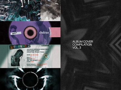 Album Cover Compilation Vol. 3 art direction 3d abstract cover art album art album cover