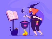 The Witch's Live Broadcast