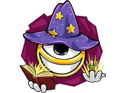 Сreation magic! sticker illustration battle game vector photoshop doodlepark
