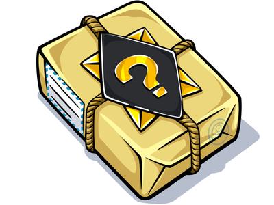 Random mail L random mail illustration battle game photoshop vector sticker doodlepark