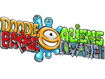 Second New Game's Logo typography branding illustration battle game logo photoshop sticker vector doodlepark