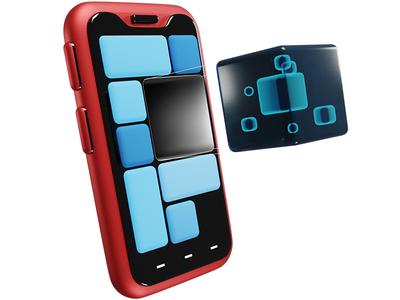 PBR on Phone octoberweb design blender3d illustration photoshop
