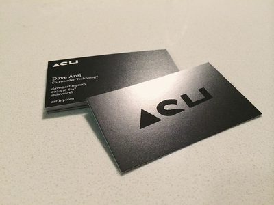 Ash Business Cards