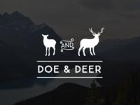 Doe & Deer