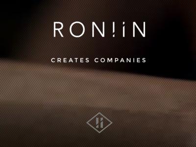 Roniin startups companies website brand logo roniin