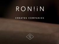 Roniin