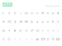 Minicorp Icon Set