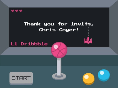 My First Shot thanks retro console retro gaming invite first shot