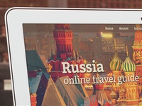 Russia Travel Guide: Responsive Website Design