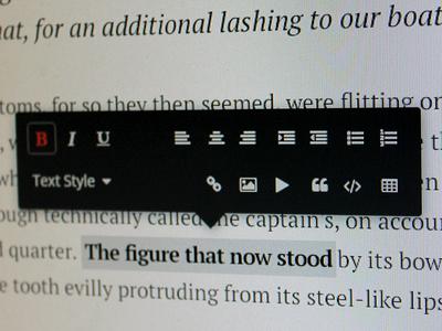 Ink: Wordpress Rich Text Editor Rethink