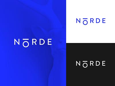 Norde Digital Agency nordic blue sign logo team design agency digital norde