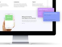 Fieldwork Homepage Design