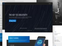 DreaMachine Homepage