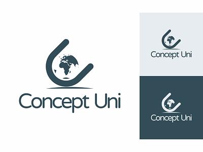 Concept Uni - Identity branding icon identity dark bold minimal logo clean