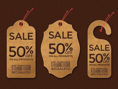 Keypixel Price Tags - Set of 3 - Free price tag tag sale tag