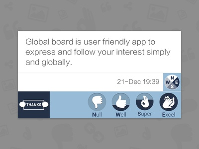 Global Board Rating Feature
