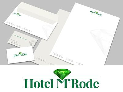 Hotel M'Rode Branding mrode hotel logo wordmark logotype branding identity logo