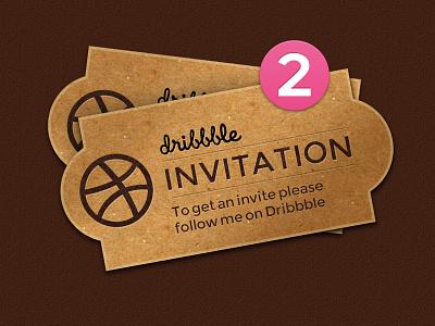 2 Dribbble Invites uniform tag sketch rough price iphone invites invite invitations icon dribbble available